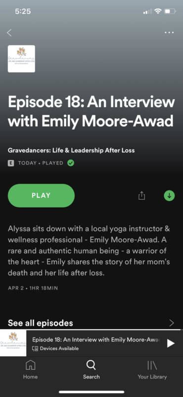 My Interview With Gravedances: Life and Leadership After Loss